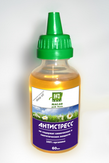 Antistress Body Oil Ekolux